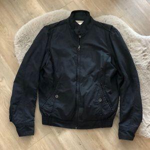 Diesel Vintage Moto black jacket w hidden pockets